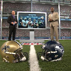 'NFL Fantasy Live': New Orleans Saints vs. Seattle Seahawks preview