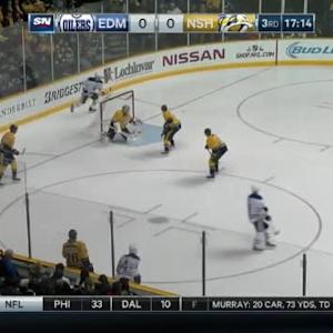 Pekka Rinne Save on Mark Fayne (02:44/3rd)