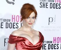 Christina Hendricks steps out at premiere of 'I Don't Know How She Does It' at AMC Loews Lincoln Square in New York City on September 12, 2011  -- Getty Premium