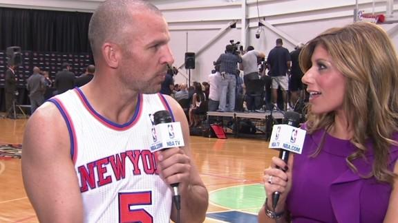 Jason Kidd Media Day Interview