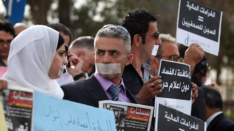 Jordan: Arab Spring clears way for press freedoms