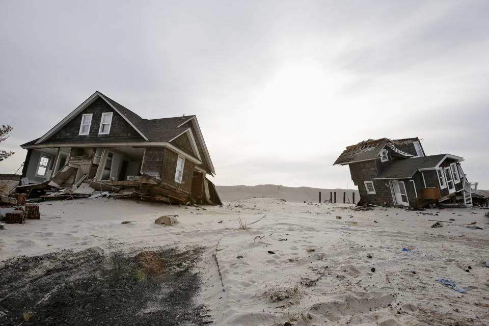 Sandy's 'freaky' path may be less likely in future