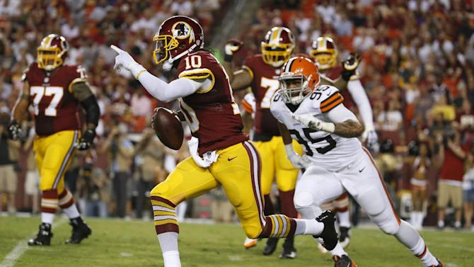 Manziel's gesture taints Browns' loss to Redskins