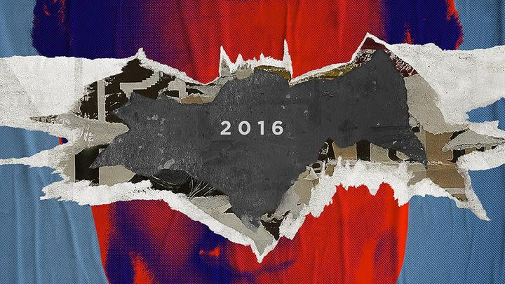Batman v Superman posters show the best of frenemies