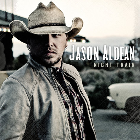 This CD cover image released by Broken Bow records shows &quot;Night Train,&quot; the latest release by Jason Aldean. (AP Photo/Broken Bow)