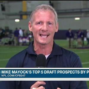 NFL Media's Mike Mayock's top 10 wide receivers in the 2015 NFL Draft