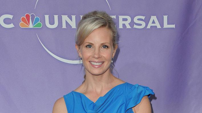 """Parenthood's"" Monica Potter arrives at NBC Universal's 2010 TCA Summer Party on July 30, 2010 in Beverly Hills, California."