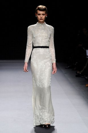 Beaded gowns at Jenny Packham
