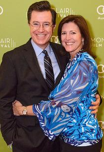 Stephen Colbert and wife Evelyn | Photo Credits: Neil Grabowski for the Montclair Film Festival.