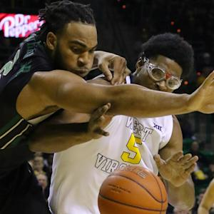 Baylor's Rico Gathers Throws Down Windmill Dunk