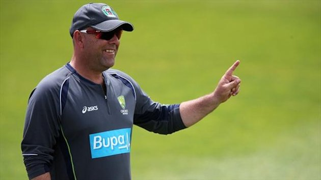 Darren Lehmann, pictured, could be penalised by the ICC for his comments about Stuart Broad