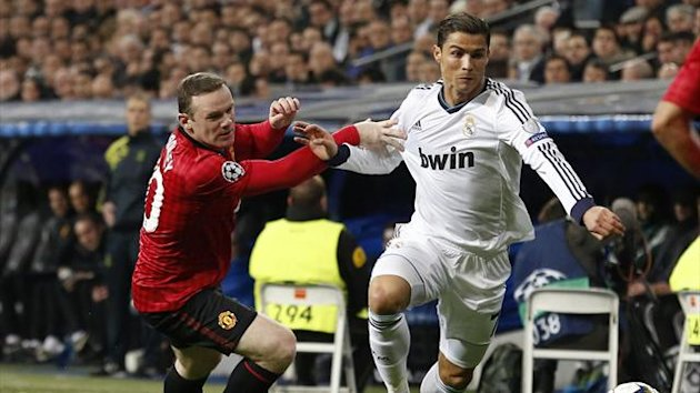 Wayne Rooney and Cristiano Ronaldo (Getty Images)