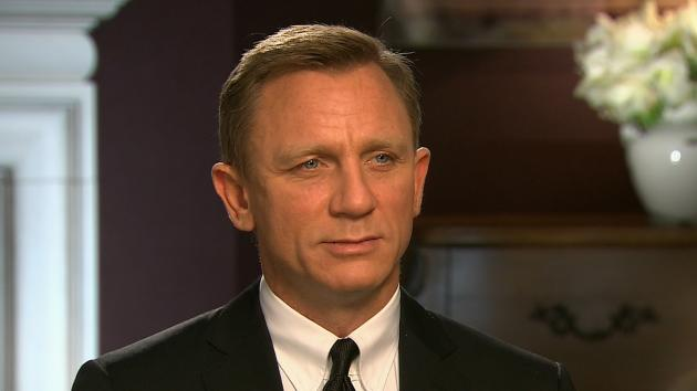 Daniel Craig speaks with Access Hollywood about 'Skyfall,' Oct. 15, 2012 -- Access Hollywood