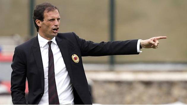 Serie A - Milan coach Allegri rules out Roma switch