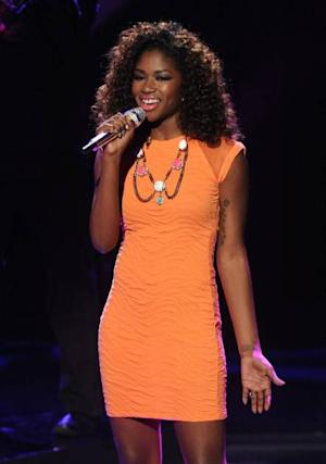 Amber Holcomb performs on 'American Idol,' April 24, 2013 -- FOX