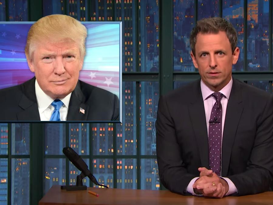 Seth Meyers explains why Donald Trump's new immigration stance is a 'sham'