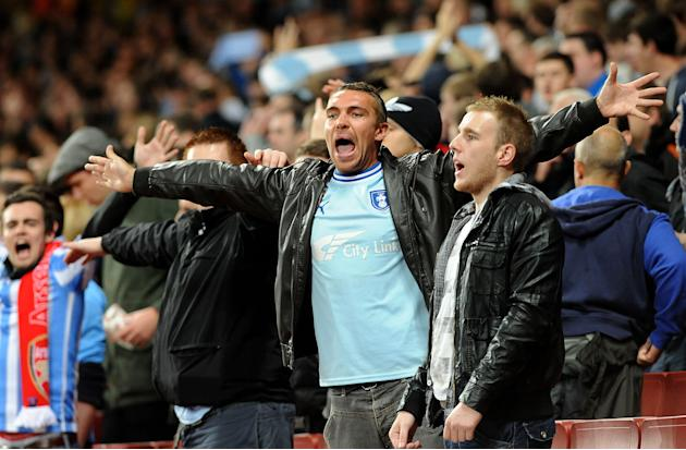 Soccer - Coventry City Fans File Photo