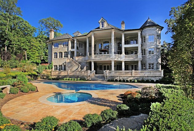Here's another view of the priciest Yahoo! Homes listing in the priciest ZIP Code, 07620. It's $14,750,000, a newly built 21-room manor. Click to see more photos and details.