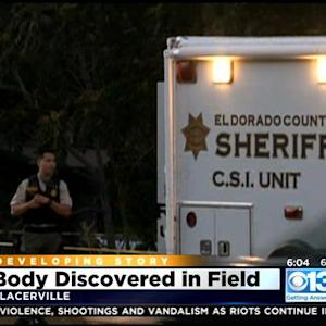 El Dorado County Investigators Looking For Clues After Body Discovered