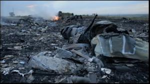 On the Scene of the Wreckage of Malaysia Flight 17
