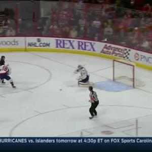 Braden Holtby Save on Nathan Gerbe (13:00/2nd)
