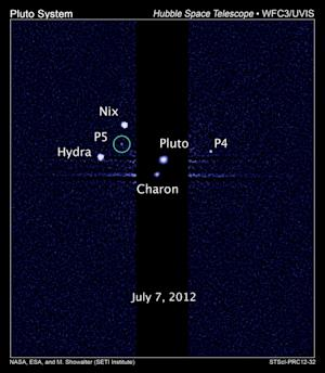 Pluto May Have 10 More Undiscovered Moons, Study Suggests