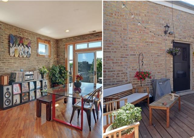 Under $300K Club: Top Floor Two Bedroom Irving Park Loft Can Be Had for $229K