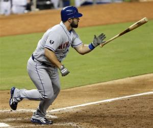 Shoppach has big hit in 9th, Mets rally for win