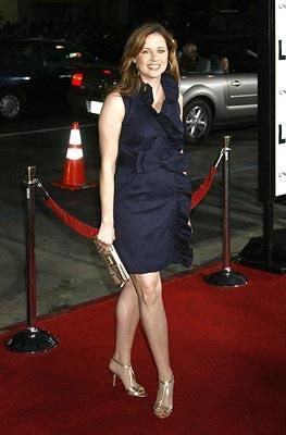 Jenna Fischer at the Los Angeles premiere of Universal Pictures' Leatherheads – 03/31/2008 Photo: Jeffrey Mayer, WireImage.com