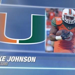 Best of Miami's Duke Johnson vs Virginia Tech