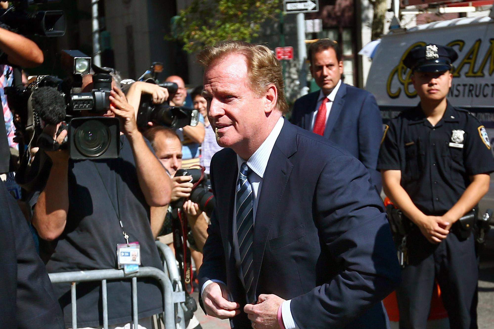 NFL commissioner Goodell issues statement on Brady ruling