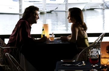 "Patrick Dempsey and Carla Gugino ABC's ""Karen Sisco"""