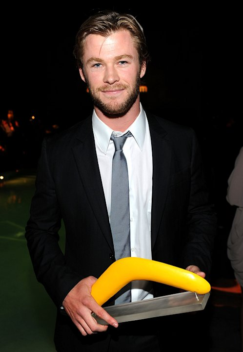Australians In Film's 2010 Breakthrough Awards Chris Hemsworth