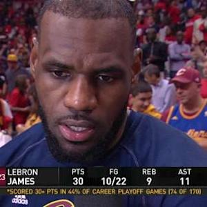 Postgame: LeBron James