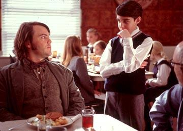 Jack Black and Joey Gaydos Jr. in Paramount's The School of Rock