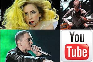 Lady Gaga, Eminem to Headline YouTube's First Ever Music Awards
