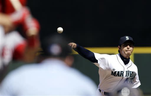 Morse, Bay homer, lead Mariners over Angels