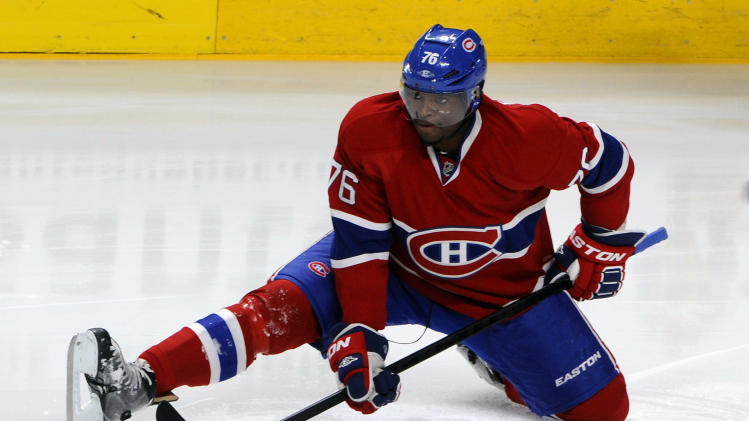 NHL: Carolina Hurricanes at Montreal Canadiens