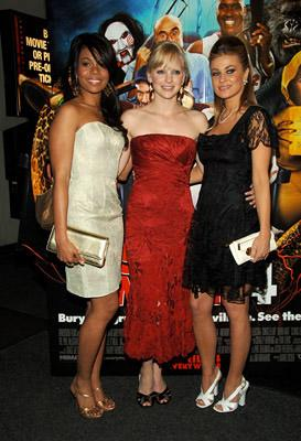 Regina Hall , Anna Faris and Carmen Electra at the NY premiere of Dimension's Scary Movie 4