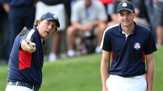 Mickelson becomes 'glue guy' for Team USA