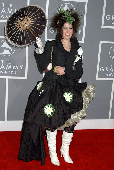 Imogen Heap at The 49th Annual Grammy Awards.