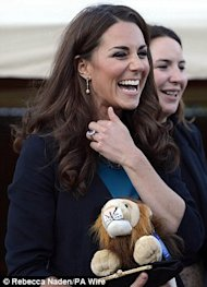 Kate Middleton The Lion The Witch and the Wardrobe