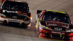 Final Laps: Bowyer wins, Jeff Gordon rallies his way in