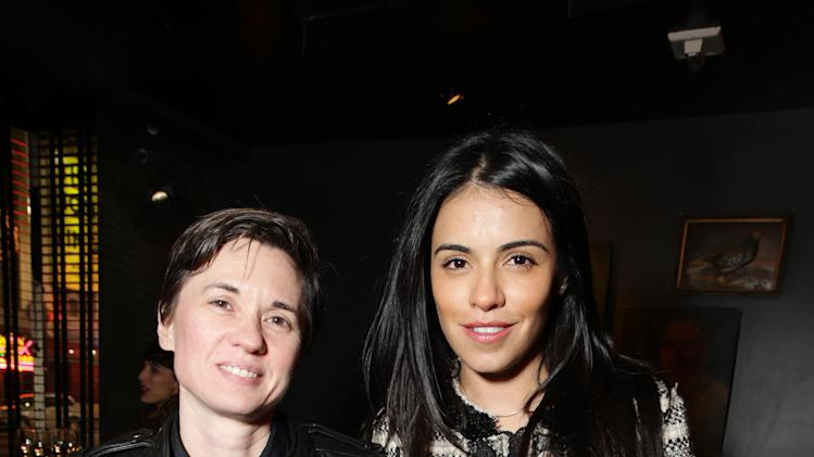 Kimberly Peirce and Olga Segura seen at the TIFFANY & CO. Los Angeles red carpet event for Tribeca Film and Well Go USA's release of THE TRUTH ABOUT EMANUEL, on Wednesday, Dec. 4, 2013 in Los Angeles. (Photo by Eric Charbonneau/Invision for Tribeca Film/AP Images)