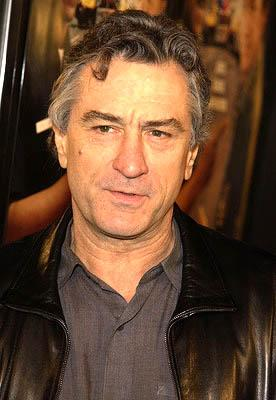 Robert De Niro at the Hollywood premiere of Warner Brothers' Showtime