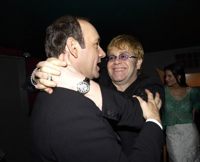Kevin Spacey and Elton John
