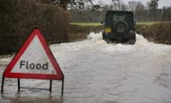 Weather: Floods Warning For Start Of 2014