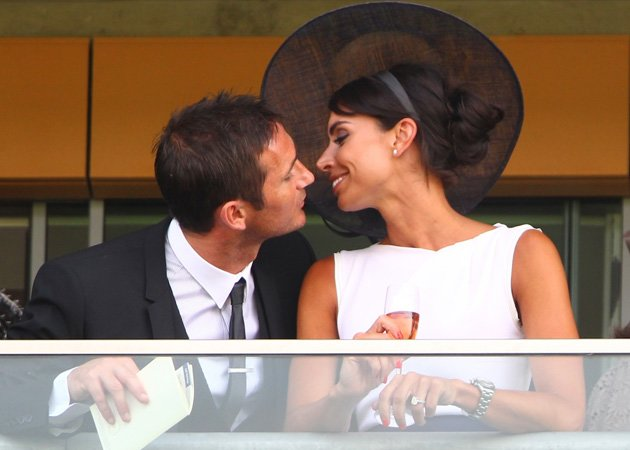 Frank Lampard, Christine Bleakley, Ascot
