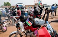 &lt;p&gt;South Sudanese celebrate on the eve of of the country&#39;s first anniversary marking its independence from Sudan in Juba on July 8, 2012. South Sudan has spent the past year wracked by border wars with the rump state of Sudan, as well as internal violence and the shutdown of its vital oil production in a bitter dispute with Khartoum.&lt;/p&gt;