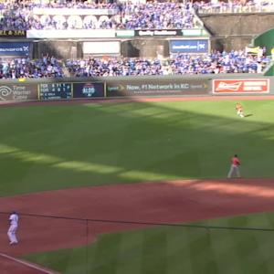 Hosmer and Escobar's big hits